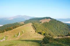 Autumn Carpathians landscape Royalty Free Stock Photography