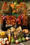 Autumn cart Stock Photos