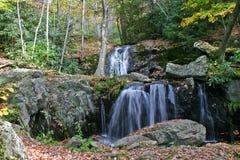 Autumn Cascade Arkivfoton