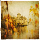 Autumn castle Royalty Free Stock Image