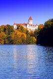 Autumn at the Castle. Royalty Free Stock Photo