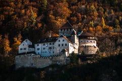 Autumn Castle Royalty Free Stock Photos