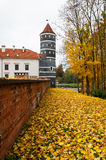 Autumn castle tower Royalty Free Stock Photo
