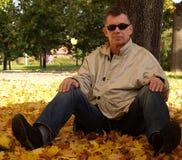 Autumn/Casual Look. Men in casual clothes stock photos