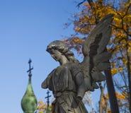 Autumn cemetery Royalty Free Stock Photos