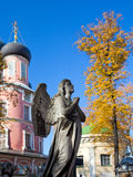Autumn cemetery Royalty Free Stock Photo