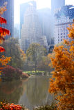 Autumn in Central Park Royalty Free Stock Photography