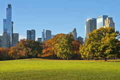 Autumn in Central Park, New York Royalty Free Stock Image