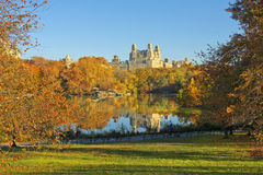 Autumn in Central Park, New York Royalty Free Stock Photos