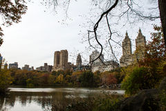 Autumn in the Central Park Stock Photography