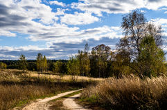 Autumn in Central Russia. Stock Images