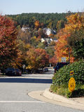 Autumn in Chapel Hill, North Carolina Royalty Free Stock Photo