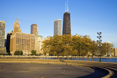 Autumn in Chicago Stock Photography