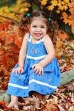 Autumn Child Royalty Free Stock Image