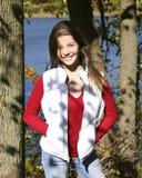 Autumn child seven Stock Photo