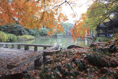 Autumn, China Park Royalty Free Stock Images