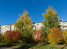 Autumn in the city Stock Photos