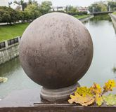 Autumn city etude. Stock Image