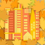 Autumn in the city Royalty Free Stock Photo