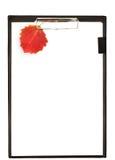 Autumn clipboard Stock Photo