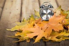 Autumn Clock fotografia stock