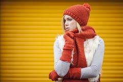Autumn clothes Royalty Free Stock Photo