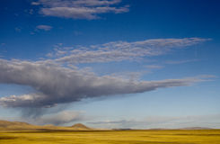Autumn cloud Qinghai-Tibet Plateau Royalty Free Stock Photography