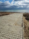 Autumn coast of the Caspian Sea. Kazakhstan royalty free stock photos