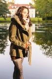 Autumn coat Royalty Free Stock Photos