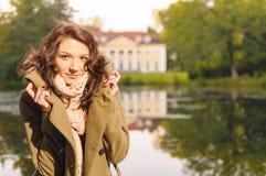 Autumn coat Stock Image