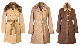 Autumn Coats Stock Image