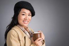 Autumn coffee Stock Images