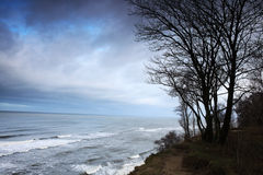 Autumn cold sea Stock Photo