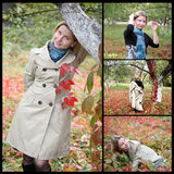 Autumn, collage Royalty Free Stock Image