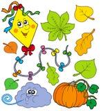 Autumn collection 1 royalty free illustration