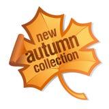Autumn collection sticker Stock Photos