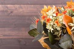 Autumn Color Flower Bouquet immagine stock