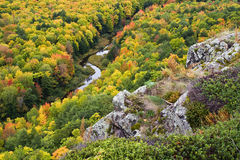 Free Autumn Color In Michigan Upper Peninsula Royalty Free Stock Images - 11351169