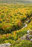 Autumn Color in Michigan Upper Peninsula Royalty Free Stock Photo