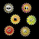 Autumn Color vector icon Stock Images