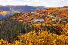 Autumn in Colorado Stock Photos