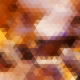 Autumn colorful background made of triangles. Royalty Free Stock Images