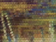 Autumn colorful background made of triangles. Royalty Free Stock Photos