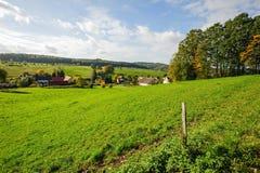 Autumn colorful landscape stock photos