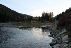 Autumn Colors Add to Beauty in Manning Park Stock Photography