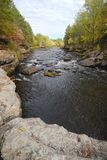 Autumn Colors Along the Kettle River Stock Image
