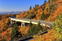 Linn Cove Viaduct stock photography