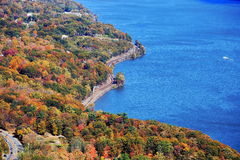 Autumn colors at Bear Mountain State Park, New Yor Stock Image
