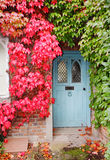 Autumn  Colors on an English Cottage Royalty Free Stock Photos