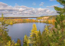 Free Autumn Colors, Highbanks Trail, AuSable Scenic Byway, MI Stock Photos - 73800653